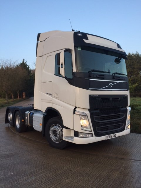 Click to view New Unused Volvo FH500 Globetrotter
